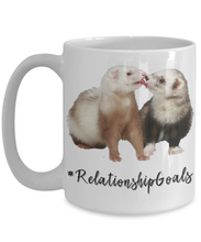 """Ferret Relationship Goals"" Mug"