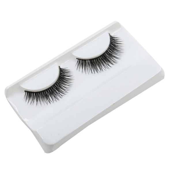 Natural Beauty  Dense A Pair False Eyelashes ONLY