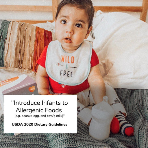 "USDA 2020 Dietary Guidelines: ""Introduce Infants to Allergenic Foods"""