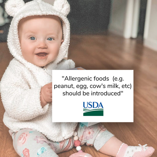 USDA Guidelines on Food Allergies: What Do They Mean For Your Baby