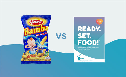 Peanut Introduction: Why Not Bamba?