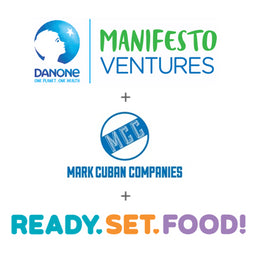 Ready, Set, Food! Announces $3 Million in New Funding Round Led by Danone Manifesto Ventures and Mark Cuban