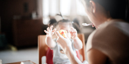 Has your child started the transition to solid foods?