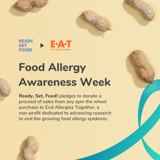 Ready, Set, Food! Donates Proceeds to End Allergies Together For Food Allergy Awareness Week