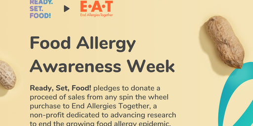 Ready, Set, Give!  Ready, Set, Food! Donates Proceeds to End Allergies Together For Food Allergy Awareness Week