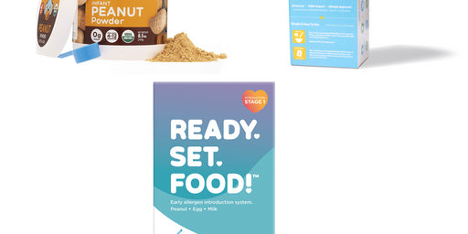 Ready, Set, Food! vs. Peanut Powders For Babies