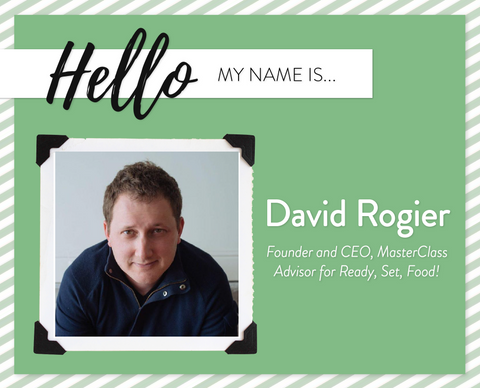 Meet our team david rogier founder ceo masterclass advisor ready set food