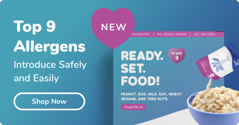 Introduce Allergens Safely and Easily with Ready, Set, Food!