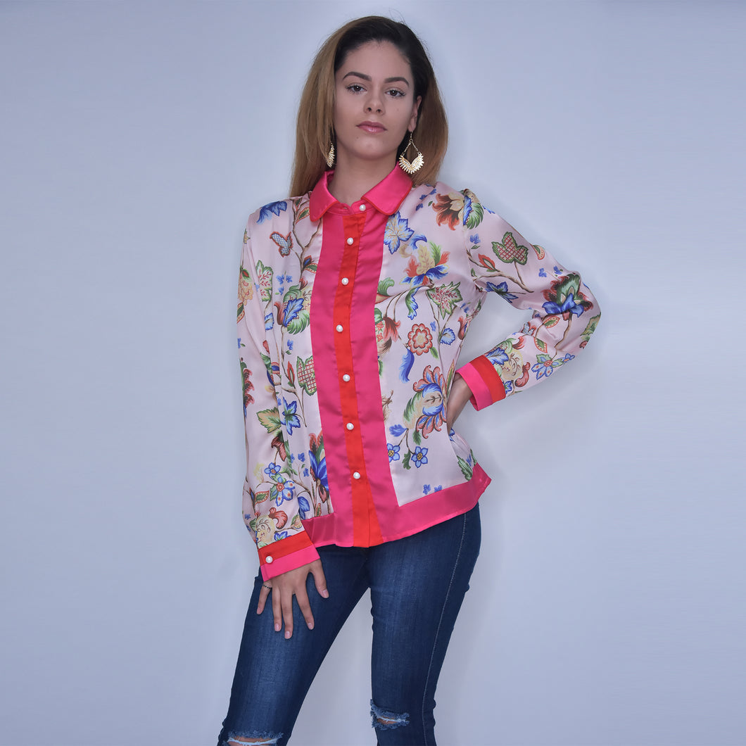 Crystal Diana Blouse