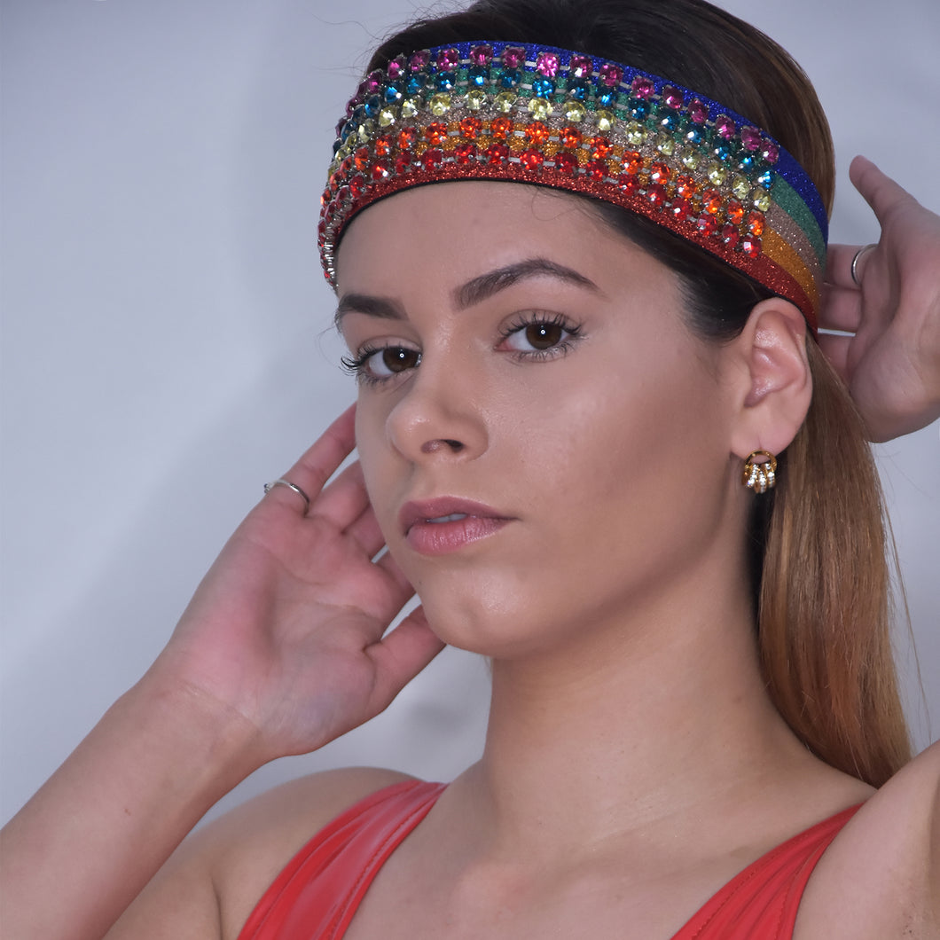 Gucci Rainbow Head Band