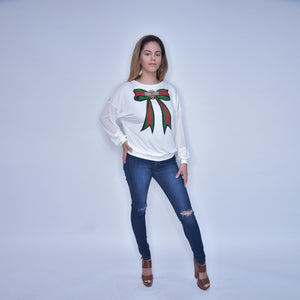 Queen Bee Bow Sweater