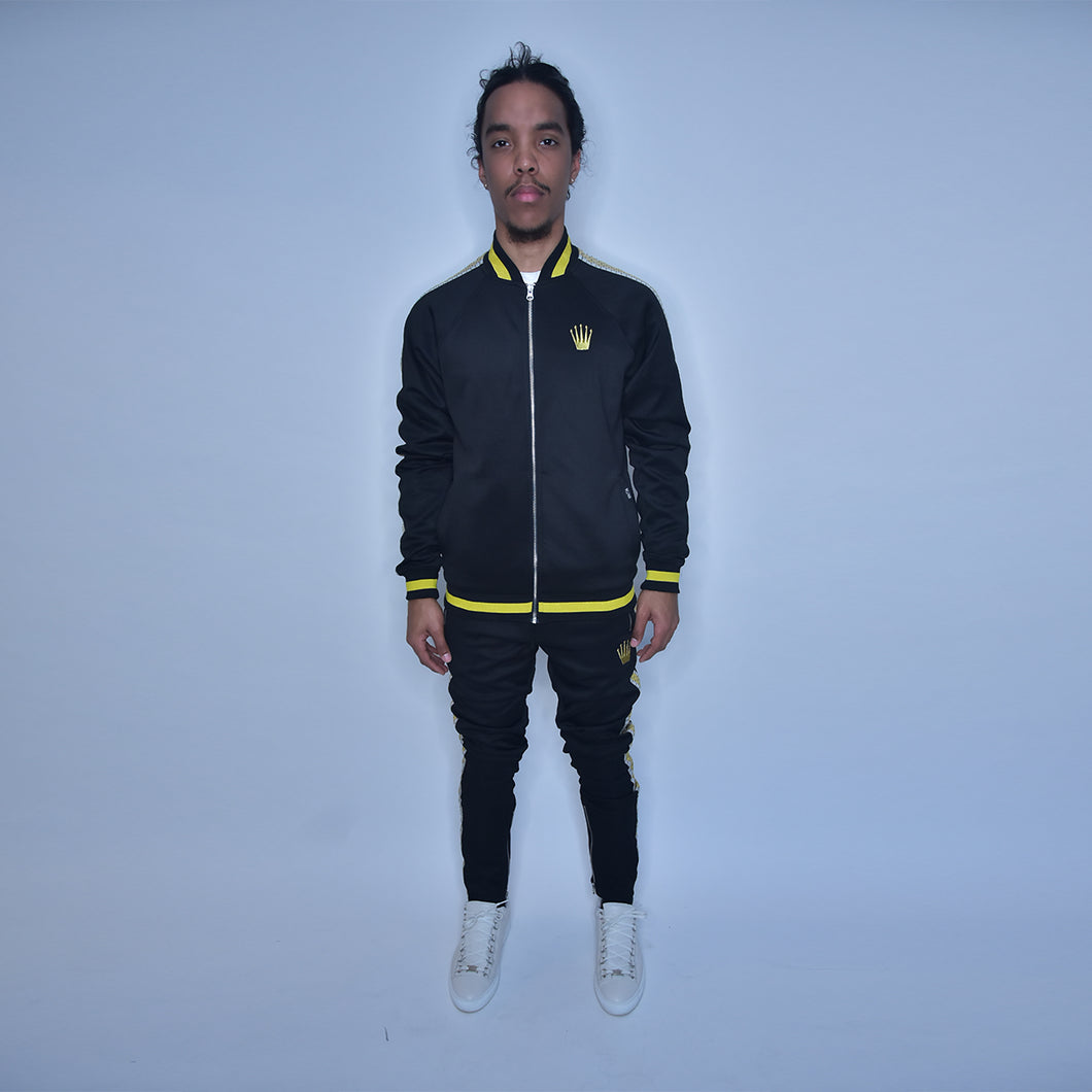 ROLEX COLLECTION SWEATSUIT BLK