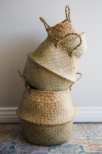 Woven Belly Basket (Set of 3)