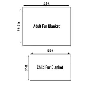 Softest Luxurious Pink Blanket (Adult & Child Size)