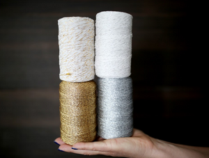 Beautiful Metallic Bakers Twine