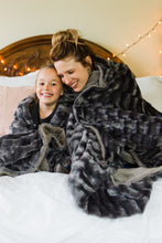 Softest Luxurious Gray Blanket (Adult & Child Size)