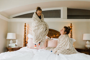 Softest Luxurious Cream'ish' Blanket (Adult & Child Size)