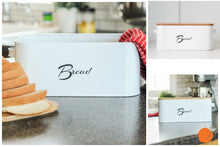 Bread Box with Bamboo Lid