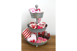 3-Tiered Tray Tin