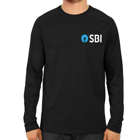SBI Logo - Full Sleeve-Black