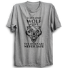 Image of GOT-42 Leave One Wolf Alive Half Sleeve Grey