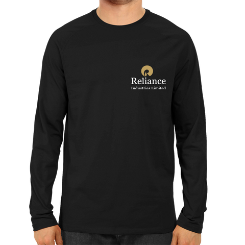 Reliance Industries Limited Full Sleeve-Black