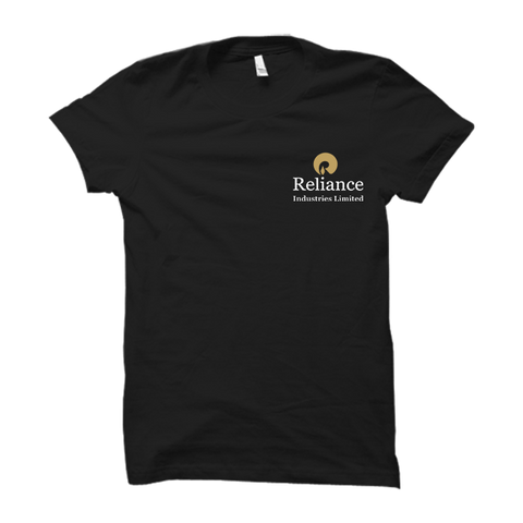 Reliance Industries Limited Half Sleeve- Black