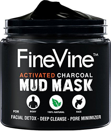 Finevine Charcoal Mud Mask