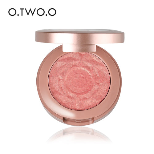 O.TWO.O Shimmer Blusher with Brush