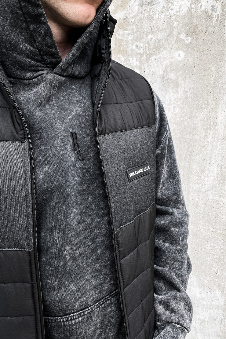 Premium Cargo Gilet · Midnight Black