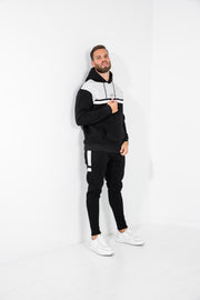 Colour Block Jogger · Noir