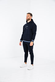 Two Stripe Hoodie · Royal Navy