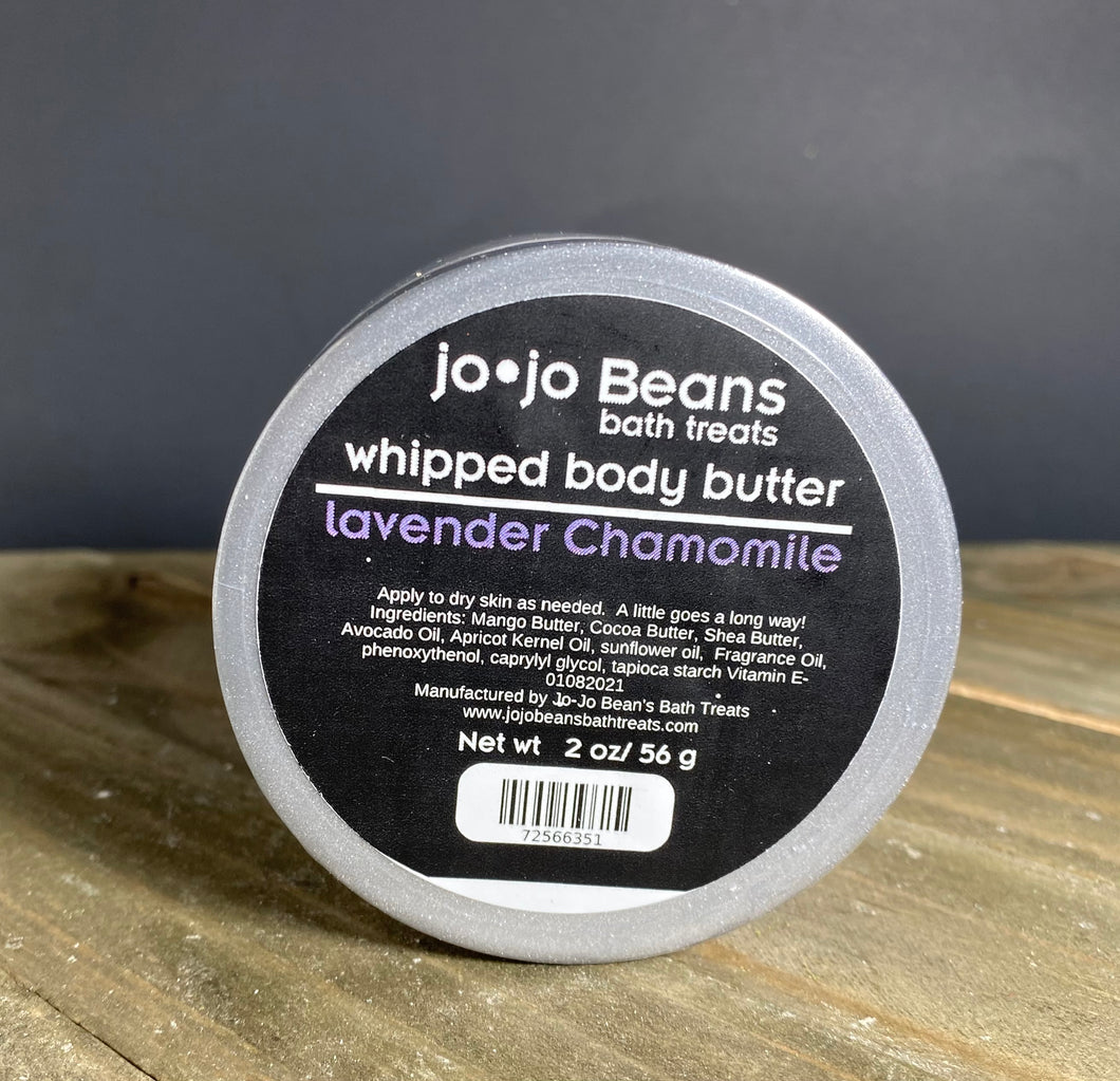 Lavender Chamomile Whipped Body Butter