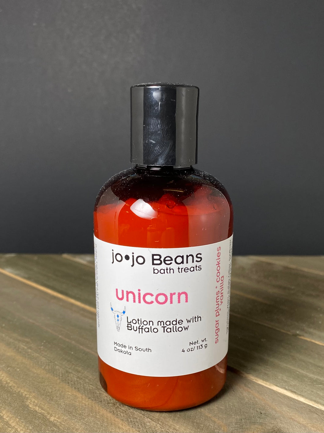 Unicorn Buffalo Tallow Lotion