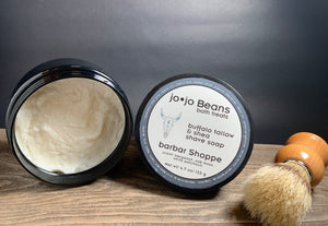 Barber Shoppe- Buffalo Tallow & Shea Shaving Soap
