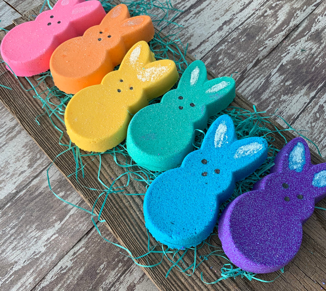 Easter Bunny Bath Bombs