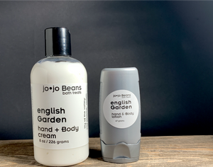 English Garden hand + Body Cream