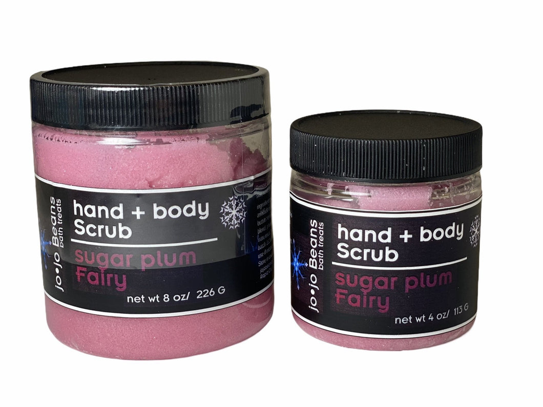 Sugar Plum Fairy Hand & Body Scrub
