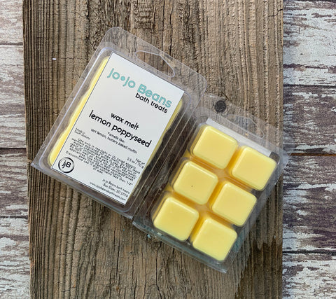 Lemon Poppyseed Wax Melt