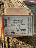 Strawberry Rhubarb Buffalo Tallow Soap ---Pre-Order