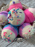 Unicorn Donut Hole Bath Bombs