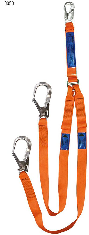 Energy Absorbing Twin Leg Access Lanyard