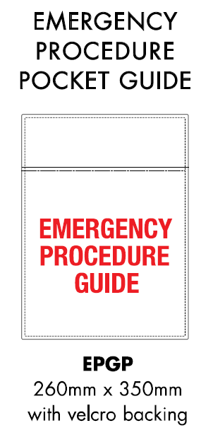 Dangerous Goods - Initial Emergency Response Guide Holder/Pouch