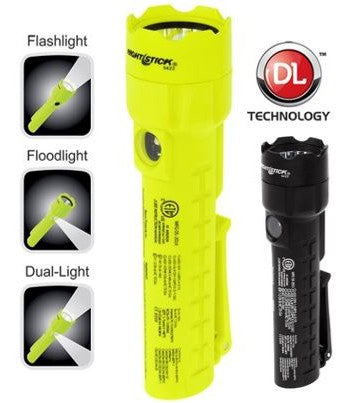 XPP-5422 - Intrinsically Safe Dual-Light Flashlight/Floodlight - Nightstick Safety Torch