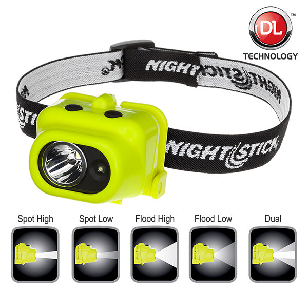 Intrinsically Safe Multi-Function Dual-Light Headlamp - XPP-5454G