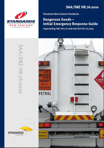 Dangerous Goods - Initial Emergency Response Guide HB76