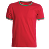 T-Shirt Tricolore Rossa