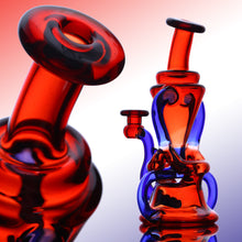 Load image into Gallery viewer, Hunter Glass Saddle Recycler #3