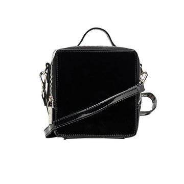 Nakedvice The Olivia Side Bag Black Patent