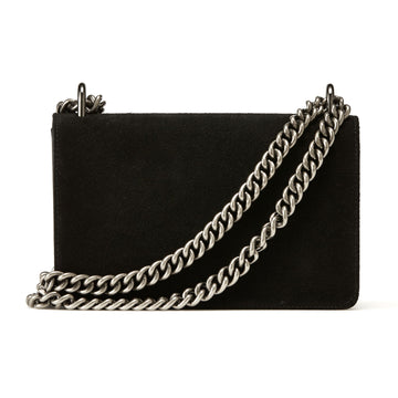 Nakedvice The Chain Bag Black Suede